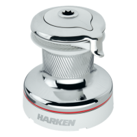 Лебедка Harken 40.2 Self-Tailing Radial White Winch