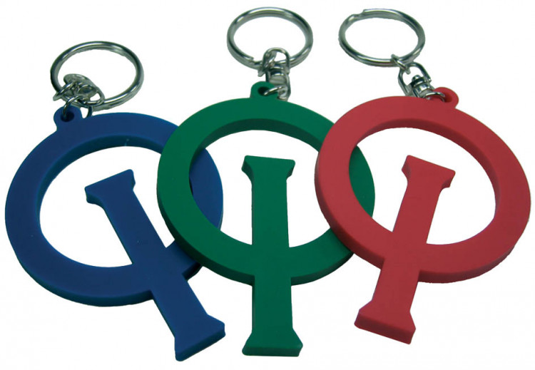 Optiparts OPTI KEY RING - RED (1477)