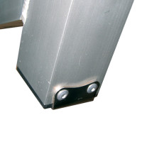 Optiparts TROLLEY HEEL PLATE INCL RIVETS (10793)